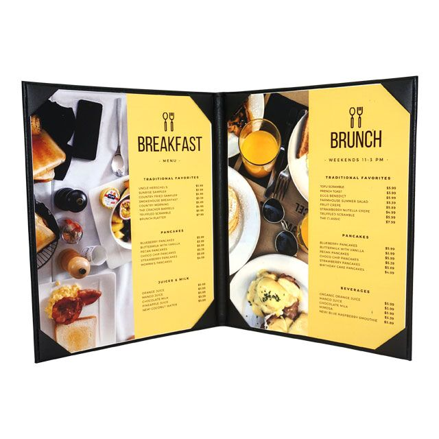 bali menu cover custom restaurant menu open hop inc