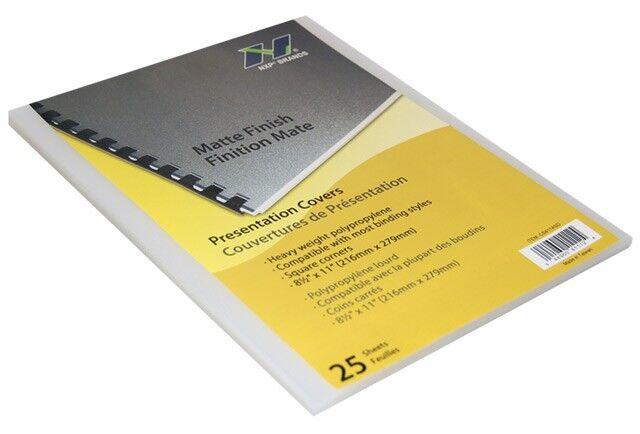 clear plastic covers presentation covers gta hop inc