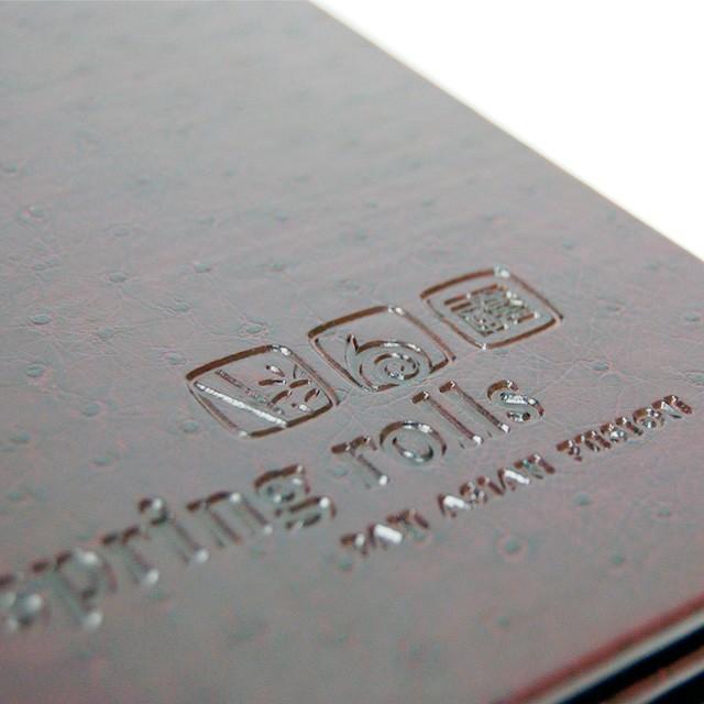 orion custom restaurant menu cover