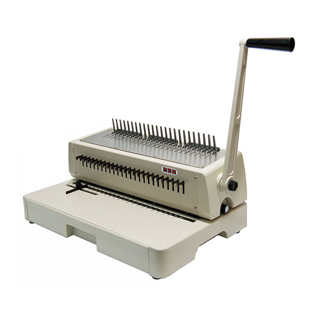 plastic comb binding machine legal size 240hpb gta