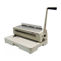 plastic comb coil binding machine gta hop inc