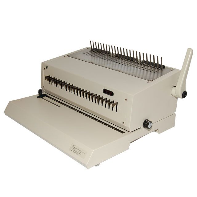plastic comb electric binding machine legal size gta