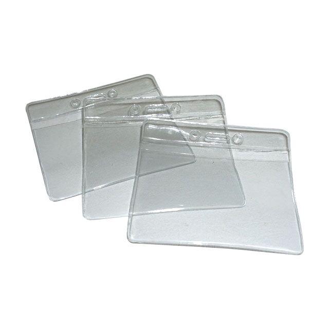 plastic id badge holder lp-2877-aa